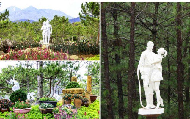 Khung cảnh vườn tượng đẹp như tranh ( ảnh internet)