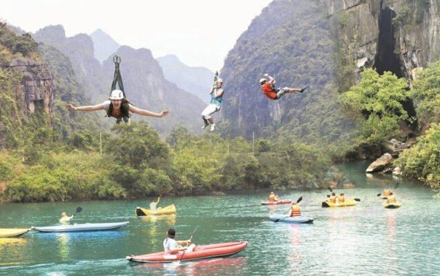 Sông Chày- Hang Tối điểm du lịch lí tưởng (ảnh internet)