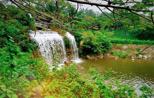 Thiên nhiên đẹp như tranh ở Hồ Mây (ảnh internet)