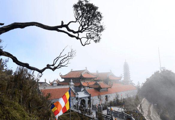 Công trình văn hóa tâm linh ở fansipan (ảnh internet)