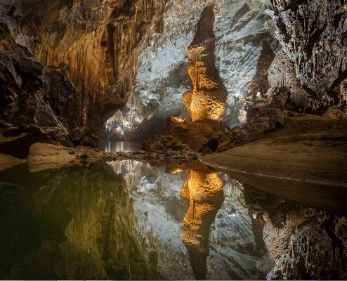 Vẻ đẹp của động Phong Nha - Quảng Bình (ảnh internet)