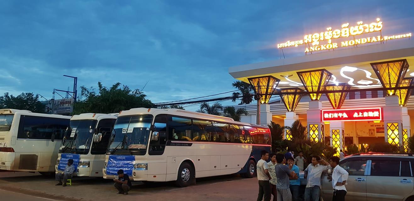 Giá vé các hãng xe đi Campuchia từ Sài Gòn năm 2019