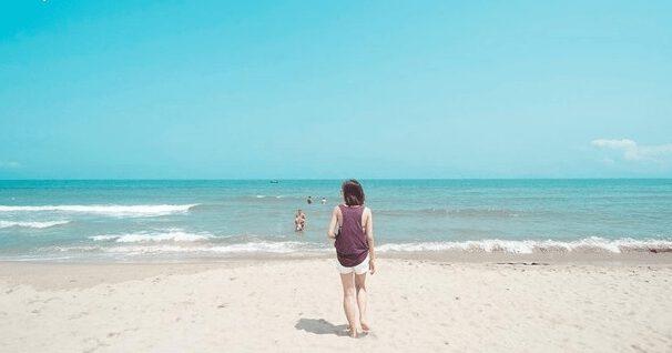 Biển An Bàng đẹp yên bình (ảnh sưu tầm)