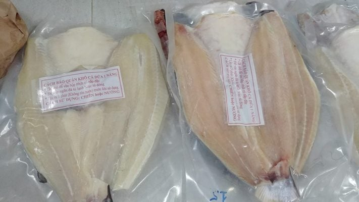 Cá dứa một nắng đặc sản nổi tiếng Vũng Tàu ( ảnh internet)