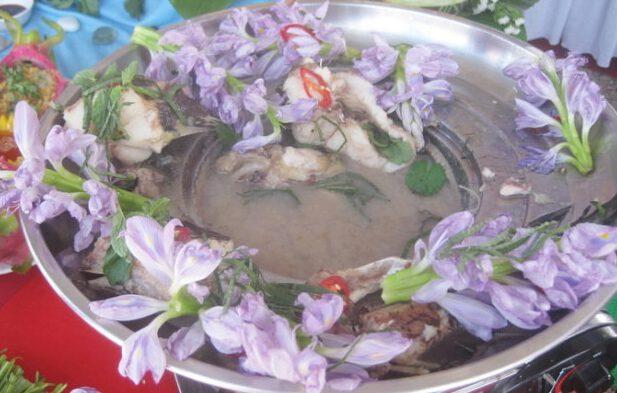 Đặc sản canh lục bình độc đáo ở Cát Tiên ( ảnh internet)