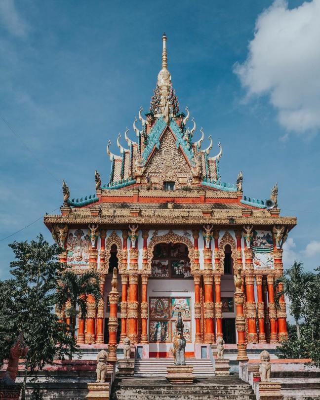 Top 7 ngôi chùa ngay Việt Nam đẹp không kém Thái Lan