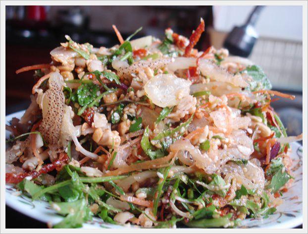 Món gỏi sứa ngon tuyệt ở Lý Sơn (ảnh sưu tầm)