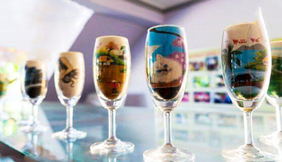 Tranh cát quà lưu niệm cực ý nghĩa khi du lịch Phan Thiết- Bình Thuận