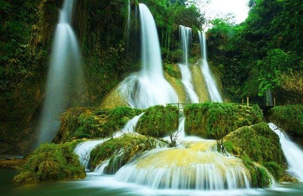 Vẻ đẹp của thác nước huyền ảo và tráng lệ ( ảnh internet)