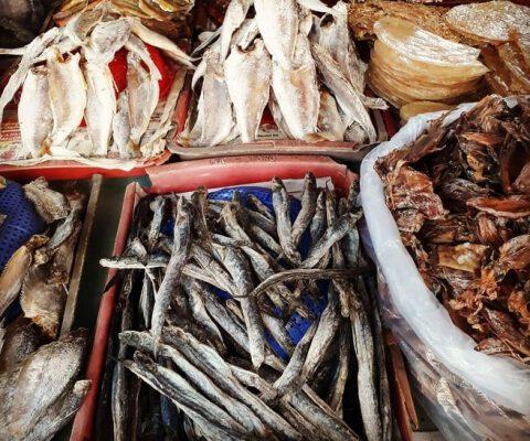 Hải sản khô Phan Thiết- đặc sản làm quà (ảnh sưu tầm)