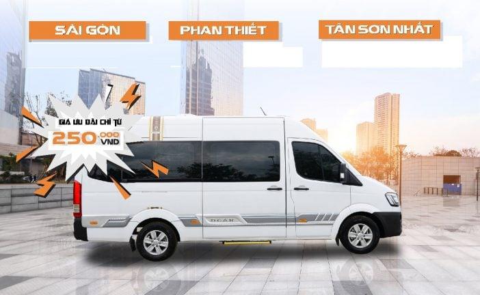 Top nhà xe limousine Sài Gòn đi Mũi Né