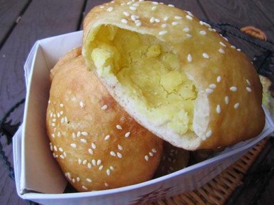 Bánh tiêu đậu xanh ngon (ảnh sưu tầm)