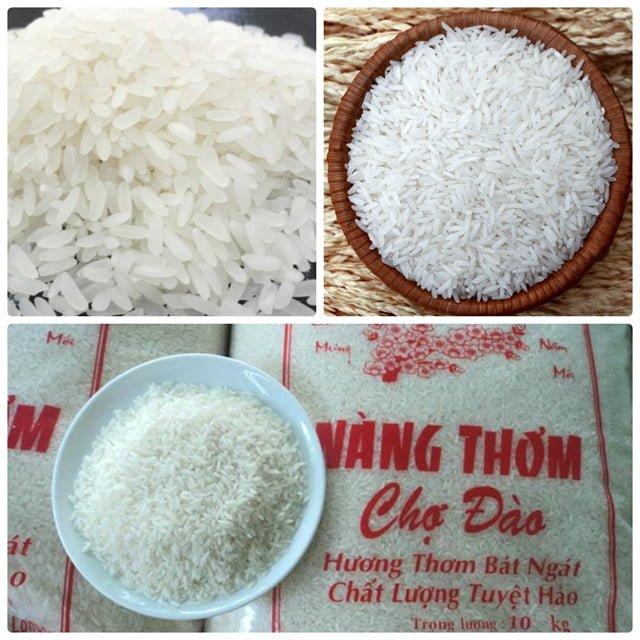 Đặc sản gạo nàng thơm (ảnh sưu tầm)