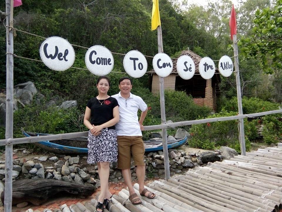 Đảo Con Sẻ Tre ở Nha Trang xinh đẹp (ảnh Thùy Dương)