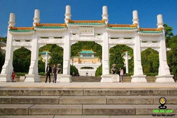 Bảo tàng cung điện Đài Loan (ảnh sưu tầm)