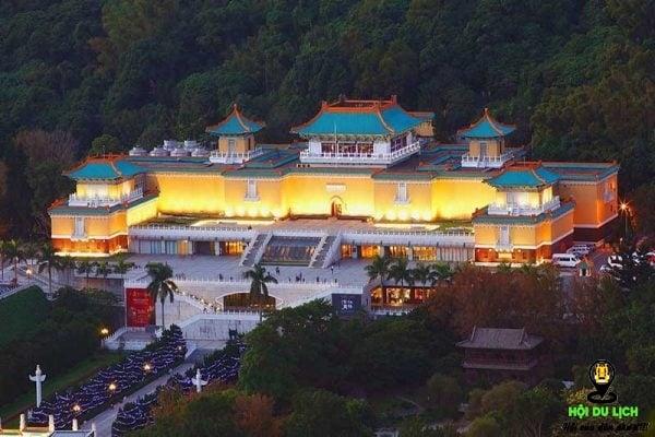 Bảo tàng cung điện đẹp lung linh tráng lệ về đêm (ảnh sưu tầm)