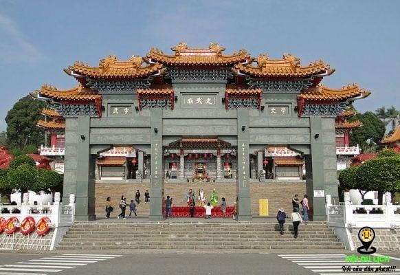 Đền thờ miếu văn võ ở Đài Loan (ảnh sưu tầm)