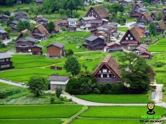 Ngôi làng Shirakawago xinh đẹp của Nhật Bản (ảnh st)
