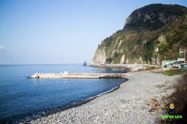 Bãi biển ở đảo Ulleungdo đẹp tuyệt (ảnh sưu tầm)