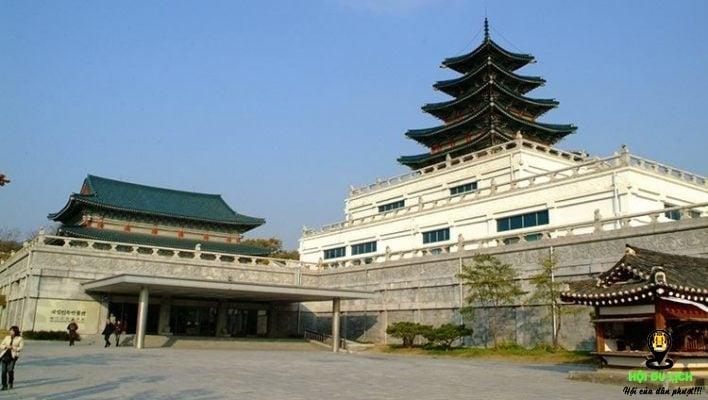 Cung điện hoàng gia Gyeongbok ở Seoul (ảnh sưu tầm)
