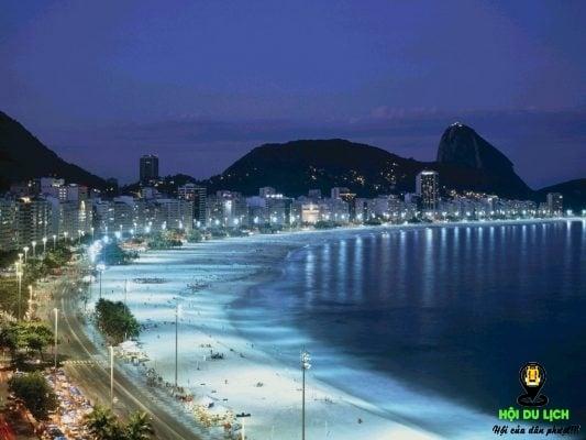 bãi biển Haeudae- một trong bãi biển du lịch đẹp ở Busan (ảnh sưu tầm)