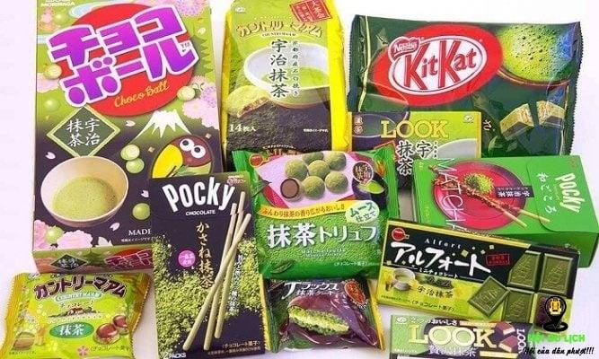 Các loại bánh kẹo xứ Hàn mua làm quà (ảnh sưu tầm)