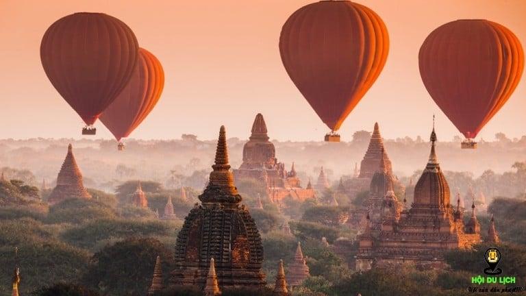 Top 5 điểm du lịch Myanmar vùng đất đẹp lịm tim