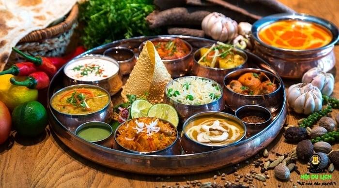 Những món ăn đậm chất Ấn Độ- nền ẩm thực tinh tế của đất nước Phật giáo
