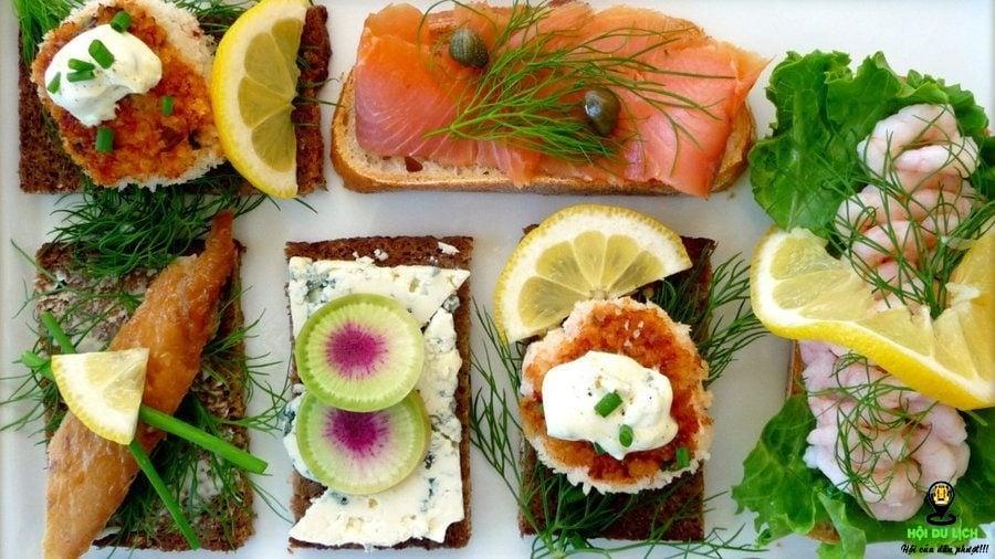 Ẩm thực trứ danh Đan Mạch- những món ăn không thể bỏ lỡ