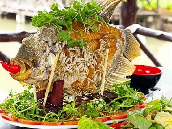 món cá tai tượng chiên xù (ảnh sưu tầm)