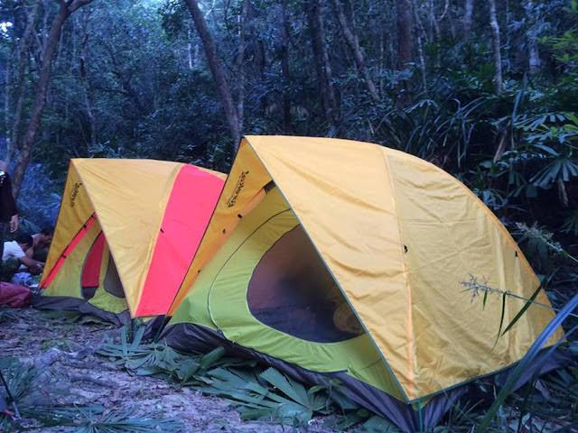 Cắm trại trên núi Chúa ở Ninh Thuận (ảnh sưu tầm)