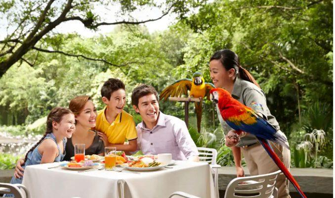 Cùng gia đình thưởng thức bữa trưa ngon miệng (ảnh sưu tầm)