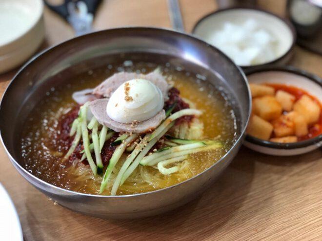 Món mì lạnh Naengmyun