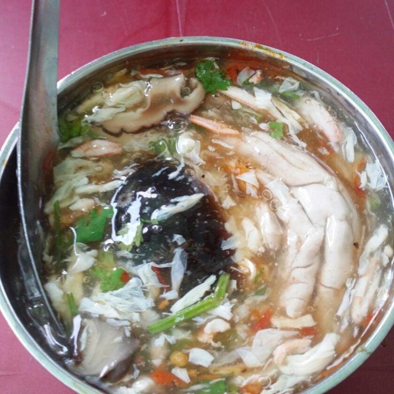 Súp cua trứng bắc thảo (Ảnh sưu tầm)