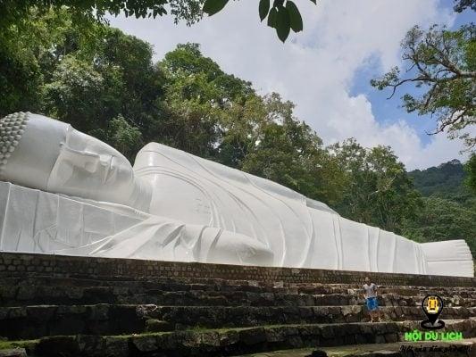 Pho tượng phật nằm lớn nhất Việt Nam