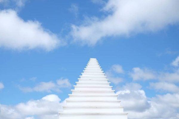 Nấc thang lên thiên đường - một địa điểm sống ảo vô cùng chất ở Đà Lạt.