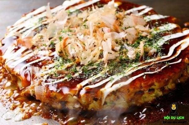 Món bánh xèo Nhật ngon đặc biệt (ảnh sưu tầm)