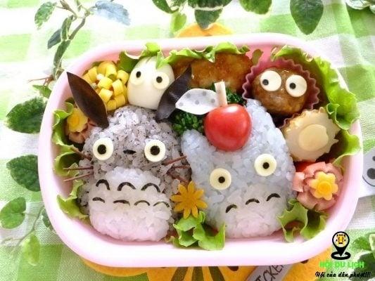 Món ăn cơm hộp Bento của Nhật (ảnh sưu tầm)