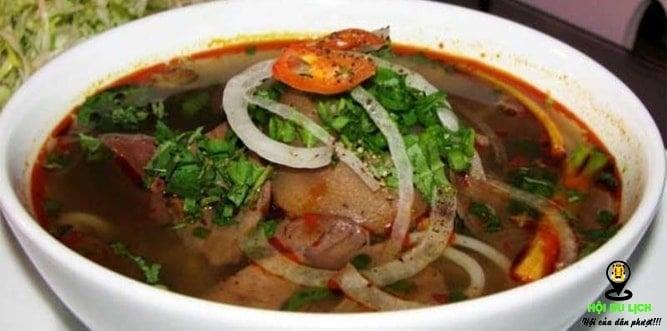 Bún bò gánh ngon ở Đà Nẵng