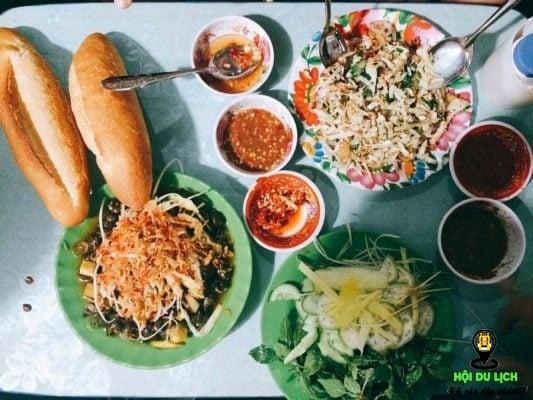 Quán ốc Thanh ngon ở Đà Nẵng ( ảnh sưu tầm)