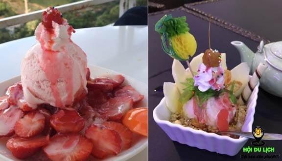 Kem Việt Hưng Đà Lạt quán kem được mọi người yêu thích