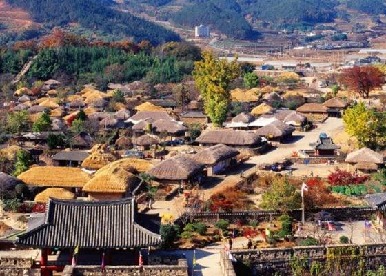 Làng truyền Seongup trên đảo Jeju