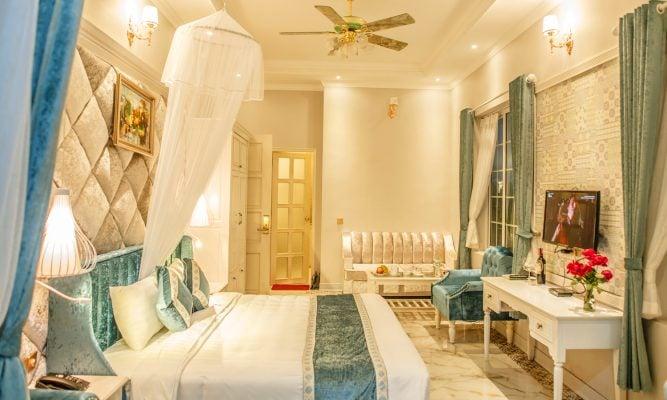 Phòng nghỉ ở khu biệt thự Jasmine