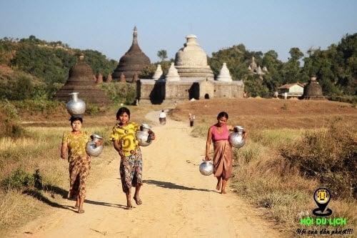 Khám phá thành phố Mrauk U cổ kính ở Myanmar
