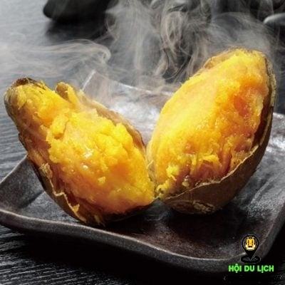 Món khoai lang nướng ở Nhật ngon hấp dẫn (ảnh sưu tầm)