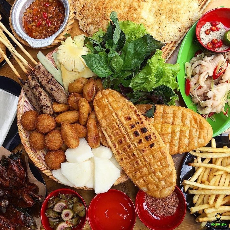 Quét sạch 51 món ăn vặt Hà Nội khắp 12 quận thành phần 2