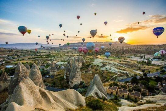Bầu trời cổ tích ở Cappadocia