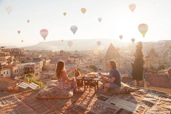 Khung cảnh tuyệt vời của Cappadocia
