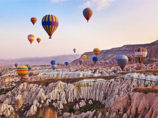 Cappadocia – điểm bay khinh khí cầu đẹp nhất thế giới