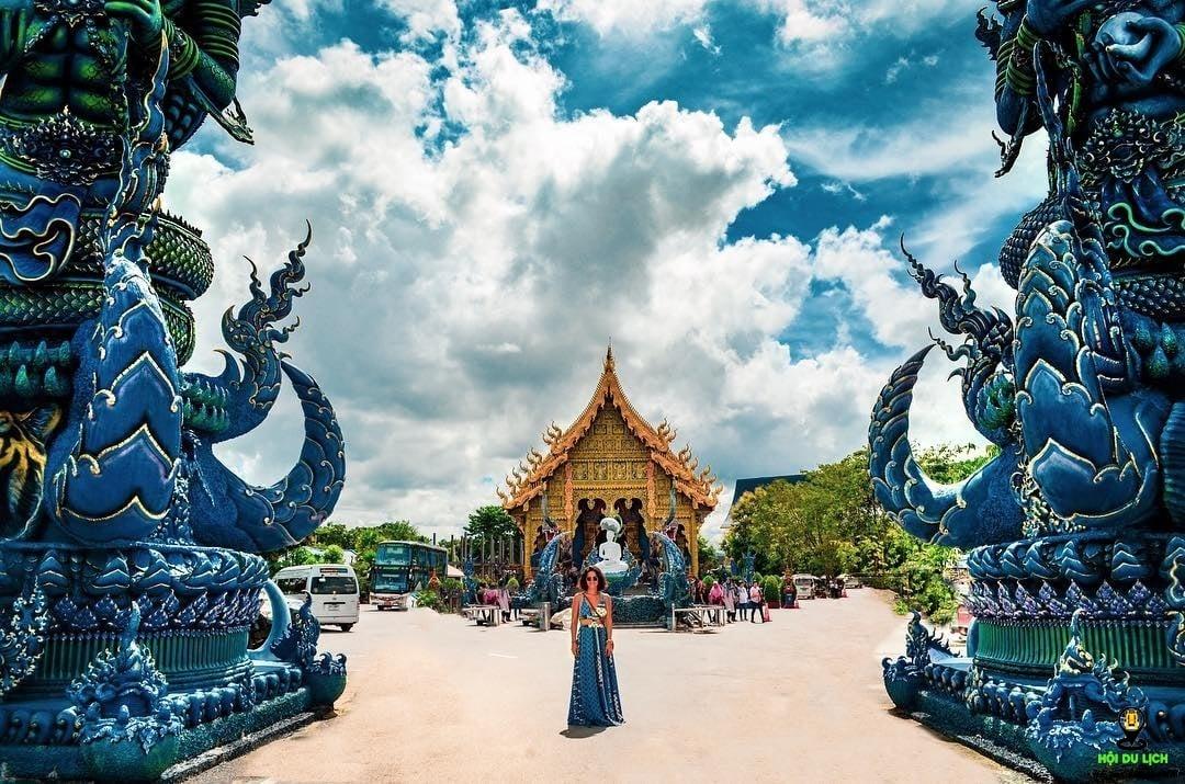 Hè này đến ngay đền xanh Chiang Rai thỏa sức sống ảo